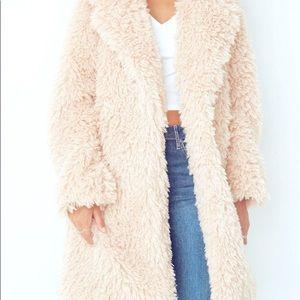 COPY - NWOT Wild Fable Cream Faux Fur Coat.